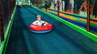 Fun Times at Busfabriken Indoor Play Center (family fun for kids) Long Edit 1