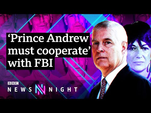 Prince Andrew 'must cooperate' over Epstein after Ghislaine Maxwell charged - BBC Newsnight