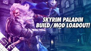 Skyrim PALADIN Build! Mod List! PS4! Xbox One!