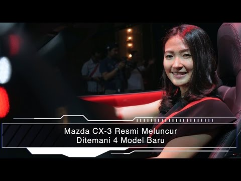 Mazda CX-3 Resmi Meluncur Ditemani 4 Model Baru I OTO.com