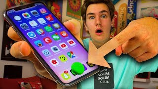 I Put a Home Button on My iPhone X