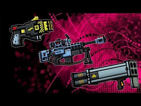 POLICE ZAPPER + OVERSEER + HURRICANE - PIXEL GUN 3D