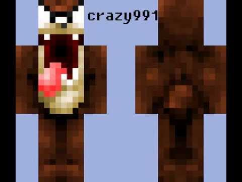 Skins Con Nombres Para Minecraft - Skins para minecraft pe mujeres