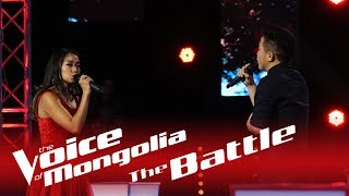 "Khulan vs Bayarsaikhan - ""You and me"" - The Battle - The Voice of Mongolia 2018"