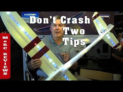 eflite-night-radian-ft-flite-test-2-meter-rc-glider--dont-crash-watch-this