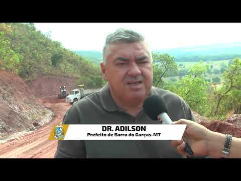 Prefeito visita estrada de acesso à Serra do Roncador