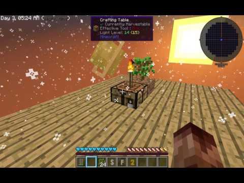 Wooden Crucible - Minecraft Sky Factory 2 5 - Bölüm 2