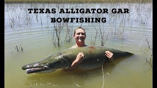 Texas Alligator Gar BowFishing