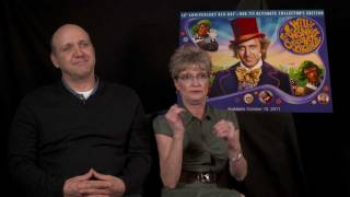 Willy Wonka Interview (2011) With Denise Nickerson (Violet) & Paris Themmen (Mike)