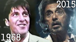 AL PACINO (1968 - 2015) all movies list from 1968 until today! How much has changed Before and Now!