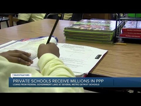 Private school receive millions in PPP