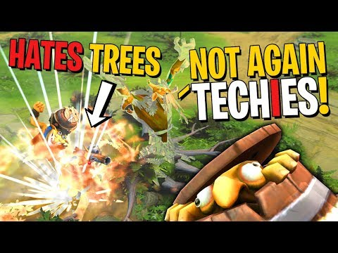 Techies the Hater of Trees - DotA 2