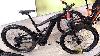 daee137b417 2019 Bh Bicycles Atom X Lynx 5 27.5 Pro Se Emtb - Walkaround - 2018 Eurobike