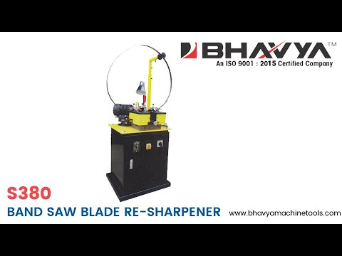 Bandsaw Blade Sharpener Machine Model S380