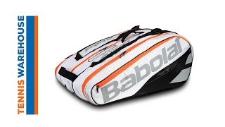 Babolat Pure Strike Racket Holder x 12 video