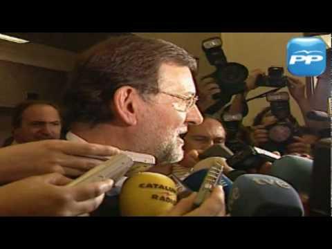 Mariano Rajoy felicita a la selección española de fútbol