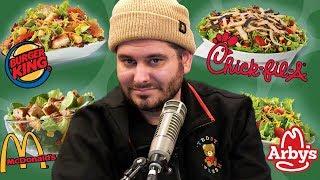 Fast Food Salad Taste Test