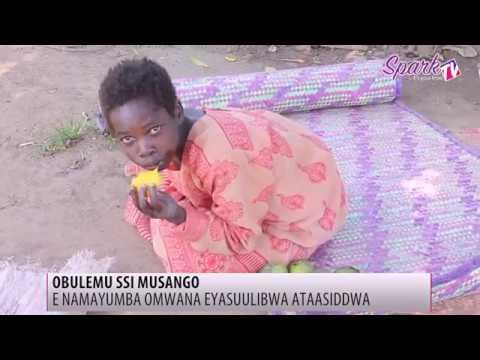 Wuuno omwana gwebaazimbira empuku e Namayumba bamukweke olw'okuba aliko obulemu