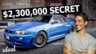 Paul Walker's INSANE 2.3 Million Dollar SECRET Stash Of Cars