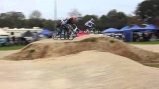 preview picture of video 'Hamilton BMX Club - Twilight Meeting 8 September 2012'