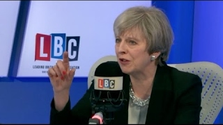 In Full: Theresa May Phone In + Interview With Nick Ferrari On LBC (11May17)