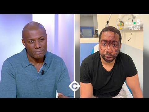 Le journaliste Harry Roselmack  évoque le Racisme, les violences policières