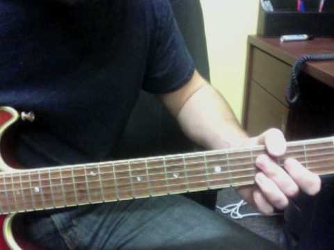 Everlasting God - D - Electric Guitar Lesson