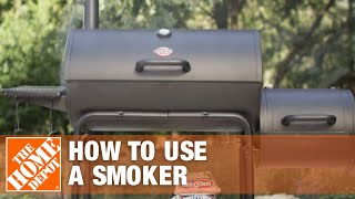 How to Use a Smoker Grill | The Home Depot