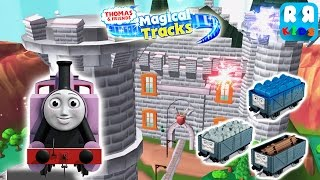 Rosi Play in Haunted Castle | Thomas and Friends: Magical Tracks - Kids Train Set