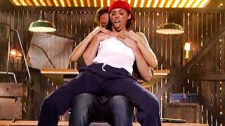 Channing Tatum's Wife Jenna Gives Him a Steamy Lap Dance on 'Lip Sync Battle'