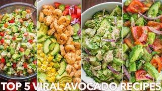 Top 5 (MEGA VIRAL) Avocado Recipes - Natashas Kitchen
