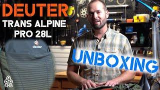 Deuter Trans Alpine Pro 28L Unboxing | Mountain Biking Backpack