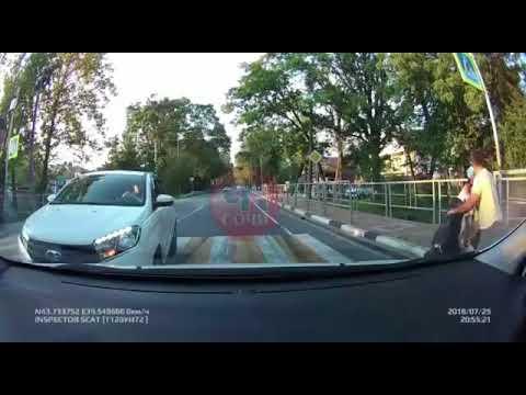 Слепой водитель LADA XRAY в Сочи