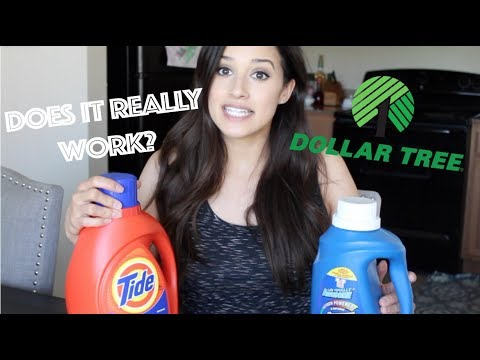 LA'S TOTALLY AWESOME VS. TIDE LAUNDRY DETERGENT