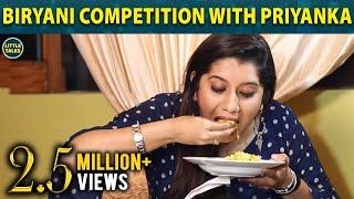 #Biriyani Competition with Priyanka   Fun Part 1   Little Talks