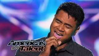 "Paul Ieti: Soldier Sings Powerful ""Bless the Broken Road"" Cover - America's Got Talent 2014"
