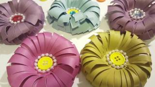 Make a flower paper crafts most popular videos easy to make paper flowers diy crafts mightylinksfo