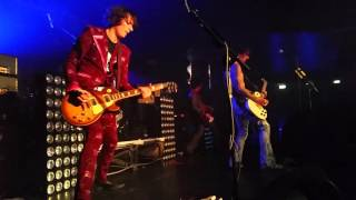 The Darkness live 2016 Rome Roaring Waters