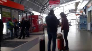 Аэропорт Варшава Модлин база Ryanair  Warsaw Modlin airport
