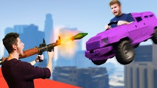 RPG vs. Truck Survival Challenge! | GTA5