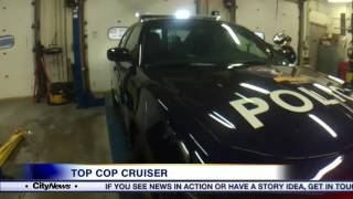 Video: Barrie police cruiser voted best dressed cruiser in Canada
