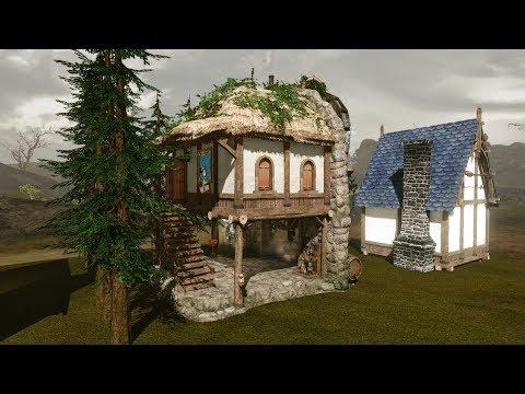 #16 ArcheAge. Как построить дом. Какой дом строить новичку?