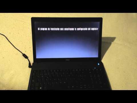 Restaurar como nuevo Acer travelmate 5742