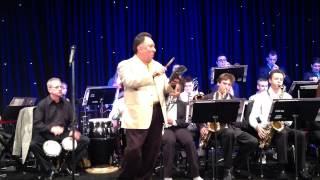 UCLA Latin Jazz Band at Universal Studios. Doing a sound check at a fundraiser event May 7, 2015.