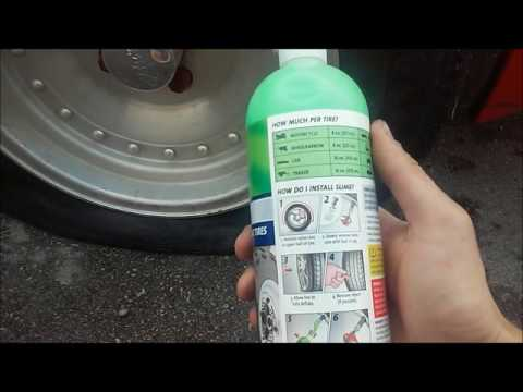 Tire Slime Leak Repair (How to use) – Tested/Reviewed