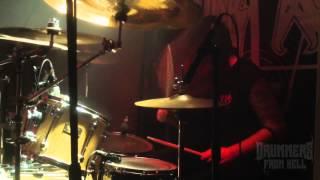 CHRIST AGONY@ Paganhorns Live at Bielsko-Poland (Drum Cam)