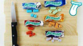 AIRWAVES KAUGUMMI TEST - Süßigkeiten testen - VIEL ZU KRASS!?