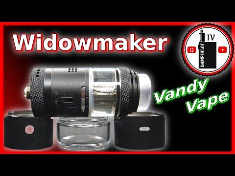 YouTube Video zu Vandy Vape Widowmaker RTA Selbstwickelverdampfer 6 ml
