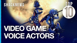 Top 10 Video Game Voice Actors