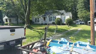 preview picture of video 'Curb appeal project. Walk through after we serviced it.'